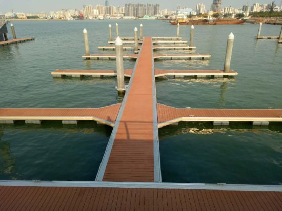 China High Quality Aluminum Frame Floating Pontoon Dock