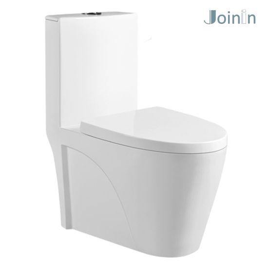 Sanitary Ware Bathroom Ceramic Wc One Piece Toilet Bowl From Chaozhou (JY1018)