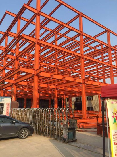 China Single Layer Corrugated Colour Cladding Steel Structure Fabrication China Steel Structure Steel Building