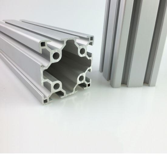 Cheap Price Alloy Aluminum Extrusion Profile 6060 Aluminum T-Slot Profile  60X60