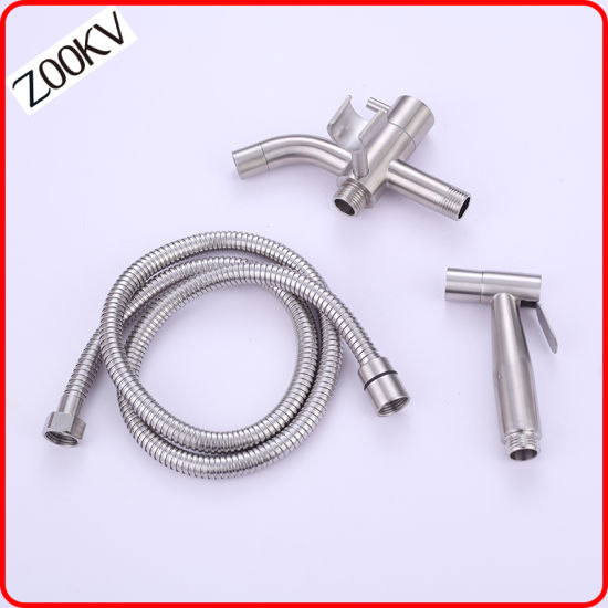 Hardware 304 Stainless Steel Multi Function Tap With Sprayer Holder Faucet Water Tap For Hanging Bidet Sprayer China Washing Tap Bibcock Tap Made In China Com
