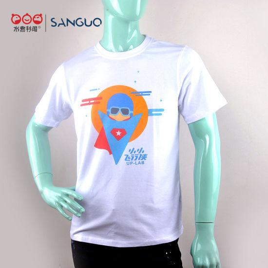 Garment OEM Printer Custom T Shirt Various Size Logo Material Colors