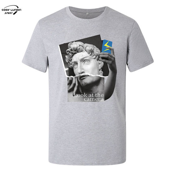 Cody Lundin Men Gym Wear Dry Fit Running T Shirt Custom Men's Polo T-Shirt with Printed Panel