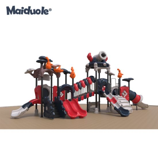 Kids Adventure Park Manufacture Leisure Play Slides Outdoor Playground