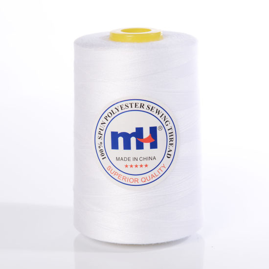 20s 2 White Sewing Thread 100% Polyester Manufacturer 20s/2 3500y Textile Accessories for Apparel