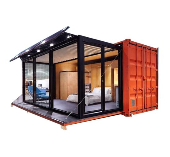 China 20FT Expandable Prefabricated Modular Steel Structure Prefab Mobile Shipping Container House pictures & photos