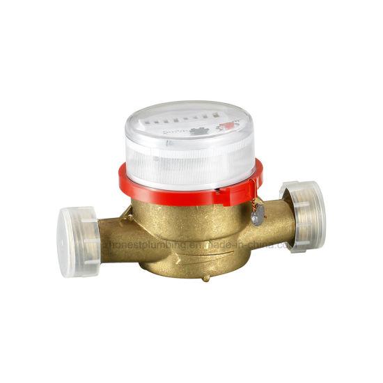 Brass Single Jet Water Meter 15-20mm