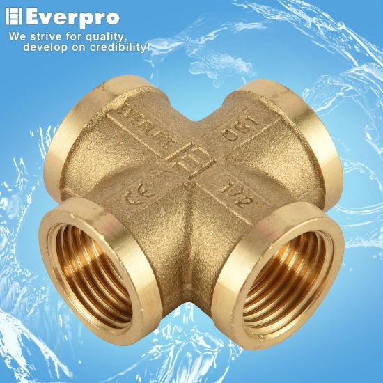 Brass Cross Coupling/Brass Fitting (EFC-X12)