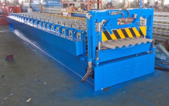 Xiamen Liming Yx810 Roll Forming Making Machine for Corrugated Profile