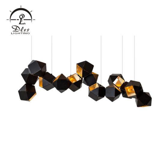 Luxury Metal Chandelier Hanging Pendant for Lobby