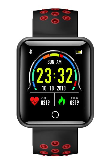 Lemfo Q18 Smart Watch with Touch Screen Big Battery Support TF SIM Card  Camera Bluetooth for Android Ios Phone