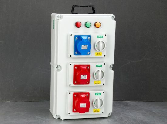 out-Side Weather Protection IP44 Cover Receptacle Combinations