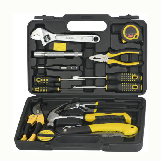 14 Pieces Home Use General Function Tool Box Kit Set pictures & photos