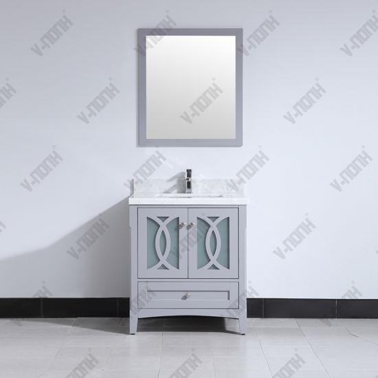 Solid Wood Tall Bathroom Cabinets