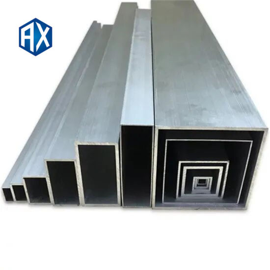Q345 Galvanized Square/Rectangle Steel Pipe with Price List From China Supplier