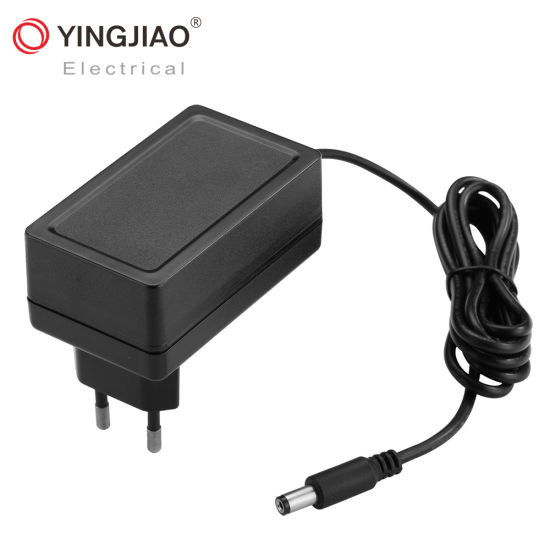 China Fob 50/60Hz AC/DC Wall Battery Charger (5V/6V/12V/15V/24V/36V) with Ce/UL/TUV/RoHS