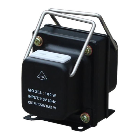 110V 220V 100W Voltage Converter Step up and Step Down Transformer