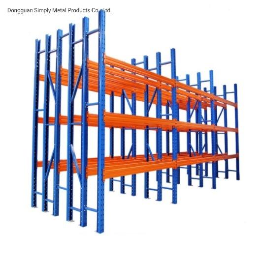 High Efficiency Double Deep Warehouse Storage Pallet Racking