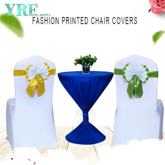 Royal Blue Organza Chair Ties, Wedding Chair Cover and Organza Sash pictures & photos