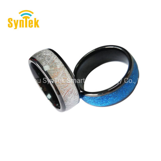 China Universal Titanium Waterproof APP Enabled Smart Ring NFC Smart