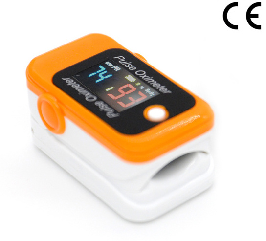 LCD Display Finger Pulse Oximeter with Bluetooth Function