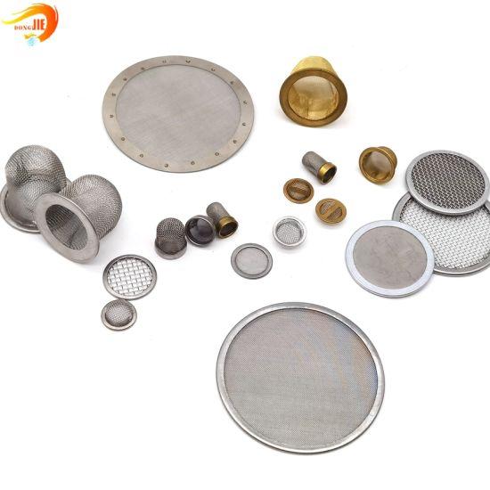 Metal Mesh Filter Disc Filter Mesh Packs Industry Filter Screen Filter Disc