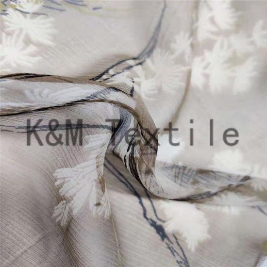 Digital Print 100% Silk Chiffon Fabric