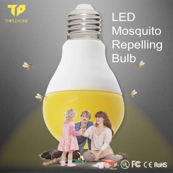 Gold Supplier 9W Mosquito Repellent LED Yellow Bug Light Bulb