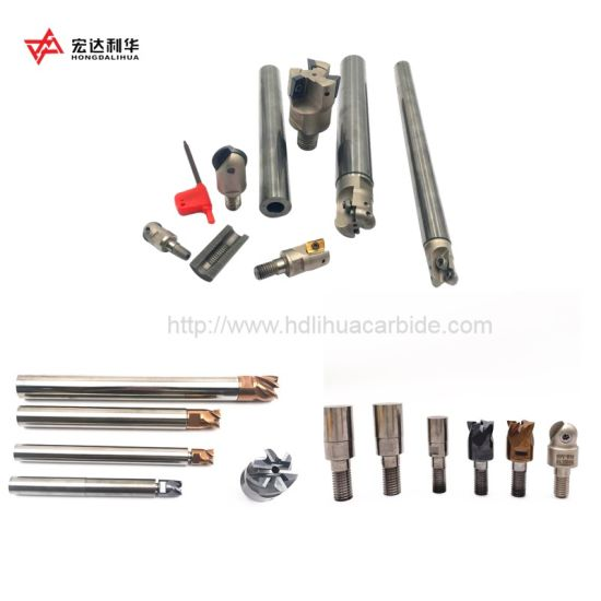 Top Quality Solid Carbide Boring Bar Cylindrical Extension Shank for Milling Inserts