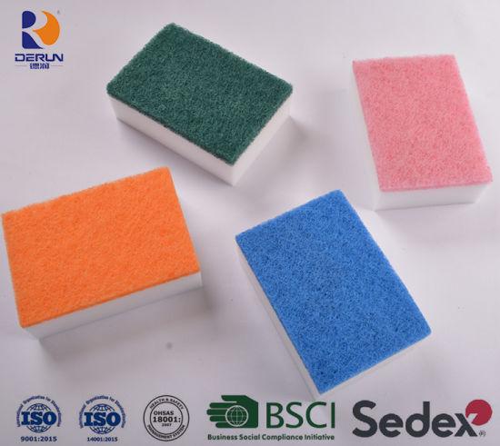 Cleaning Sponge, Scouring Pad Magic Sponge Like Mr Clean Magic Eraser