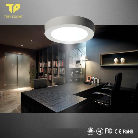 85-265V Isolated Round Square LED Panel Light 18W 24W Surface LED Ceiling Lights