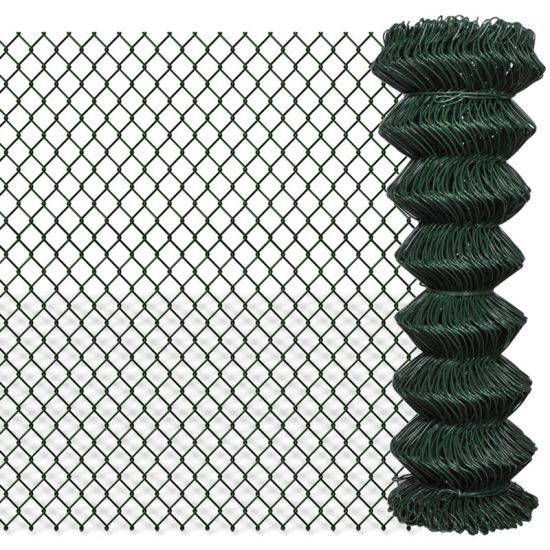 Galvanised & PVC Chain Link Fence for Commercial and Residential Applications