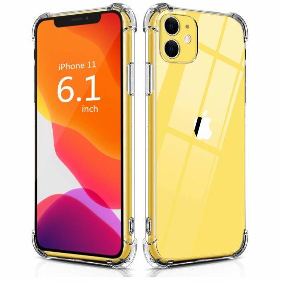 1.5mm Clear Transparent Soft TPU Anti-Scratch Shock Absorption Phone Case for iPhone 12 PRO Max