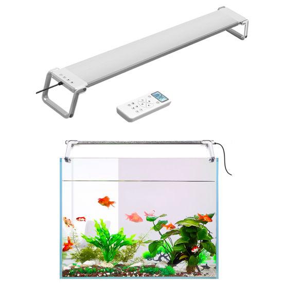 Remote Control Aquarium LED Fish Tank Light Full Spectrum 35W 60cm Wrgb Marine Coral Reef LED Aquarium Light