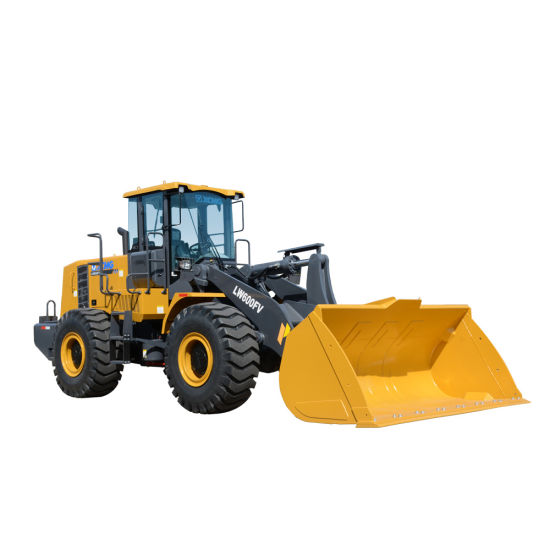 China Hydraulic System Earth Moving Equipment 6000kg Wheel Loader