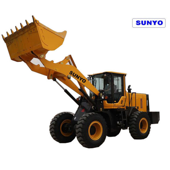 Sunyo Brand T958n Mini Wheel Loader as Excavators, Backhoe Loader, Skid Steer Loader