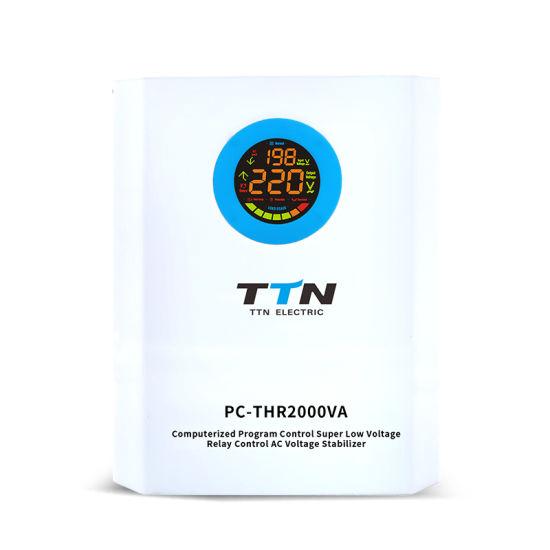 Best Price 2kVA 2000 Watt Electronic Microtek V Guard AC Voltage Stabilizer AC Regulator for TV Home Gas Boiler