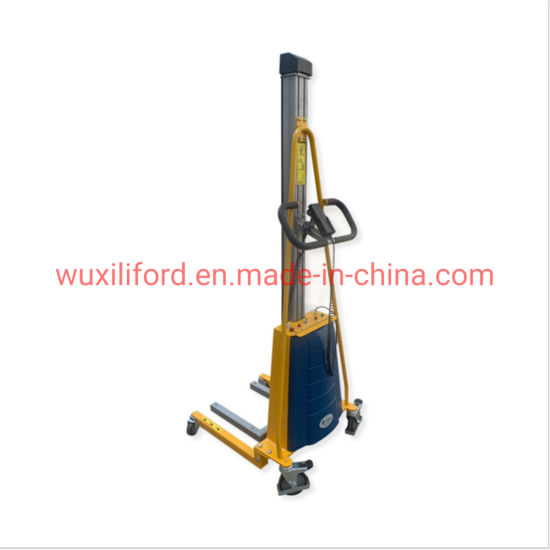 China Facory Price 150kg Electric Lifting Stacker E150
