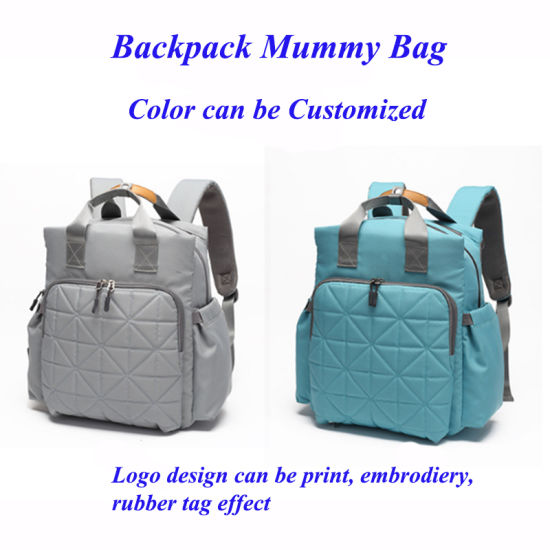 Large Capacity Mummy Bag for Baby Care