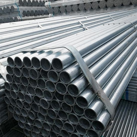 Guangzhou 6 M Lengths Hot DIP Galvanized Scaffolding Tube