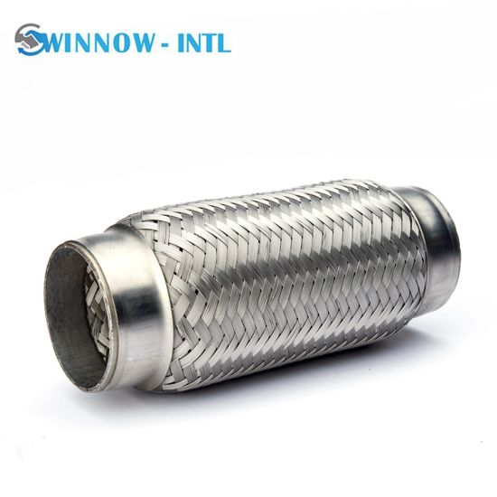 1 2 3 4 Flex Pipe with Flange Flexible Exhaust Pipe Wholesale