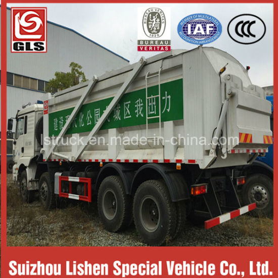 Low Price Big Volume Garbage Dump Truck pictures & photos
