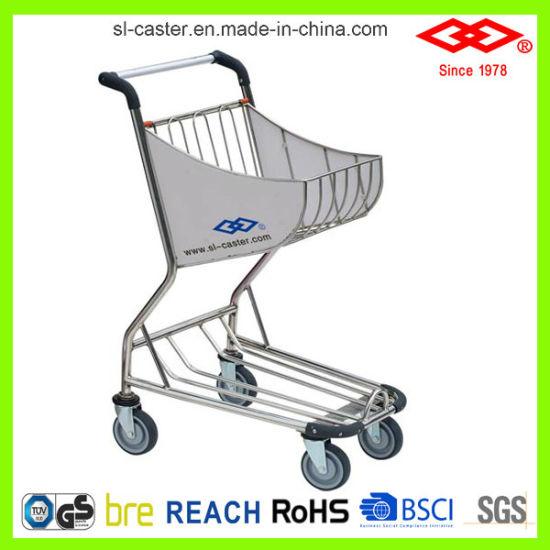 Stainless Steel Airport Shopping Cart (CS-80)