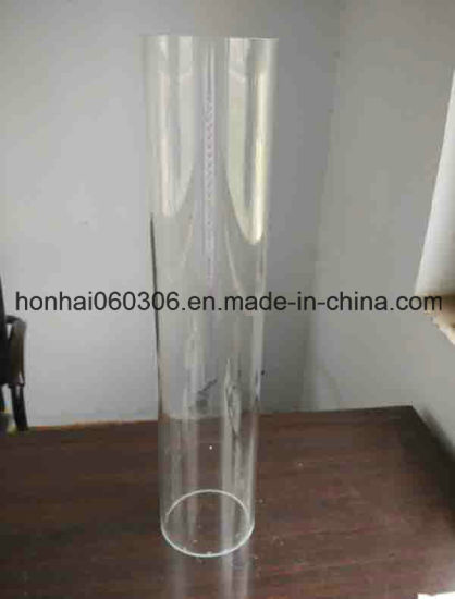 Glass Tube Cylinder Candle Holder pictures & photos