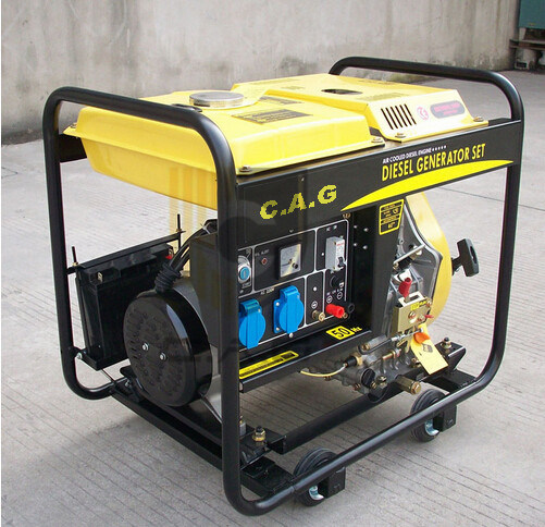 [Hot Item] Air Cooled (2kw 3kw) Small Diesel Engine Single Cylinder  Portable Power Electric Generator