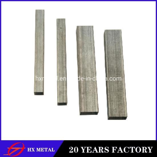 ASTM Standard Hot DIP Galvanizd Hollow Section Carbon Suqare Steel Tube for Furniture Fabrication