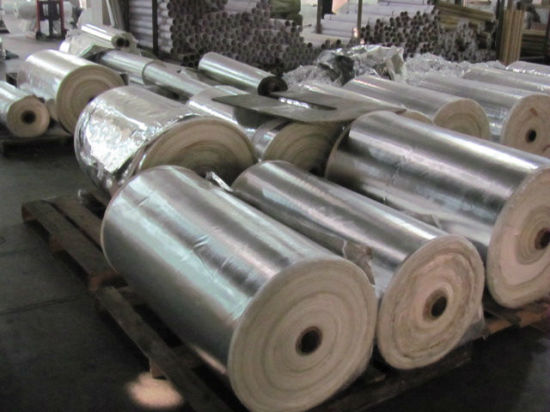 Aluminum Foil Fiberglass Fabric for Thermal Insulation