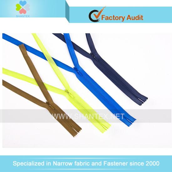 Good Quality Invisible Nylon Teeth Zipper for Garment
