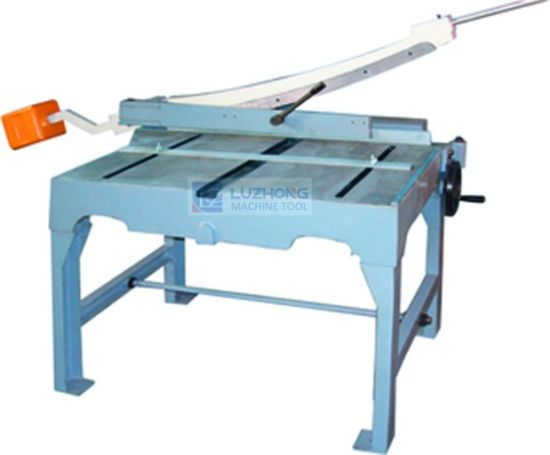 HS-500 HS-600 HS-800 HS-1000 HS-1300 Hand Guillotine Shear pictures & photos