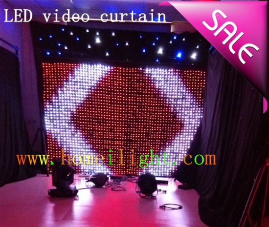 2*3 LED Display Video Curtain with CE pictures & photos